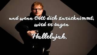 Supermarket Flowers   Übersetzung   Ed Sheeran (Deutsch)