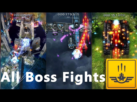 Sky Force All Boss Fights (All Weapons Unlocked) - Sky Force 2014 Android Gameplay