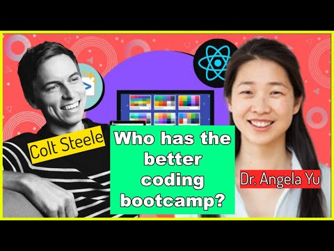 Colt Steele vs. Angela Yu (Complete Web Development Bootcamp)    Which coding bootcamp is better?