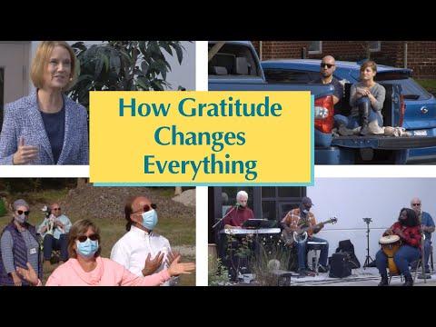 """How Gratitude Changes Everything"" – Rev. Paula Mekdeci – November 22, 2020"