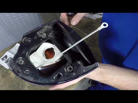 Spiegelfangseile BMW R1100RT und R1150RT by HORNIG