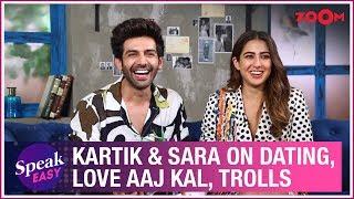 Kartik Aaryan and Sara Ali Khan on Love Aaj Kal, dating rumours, trolls, reactions   Full Interview