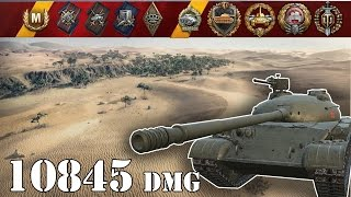 World Of Tanks  Object 140 .. 10845 Dmg