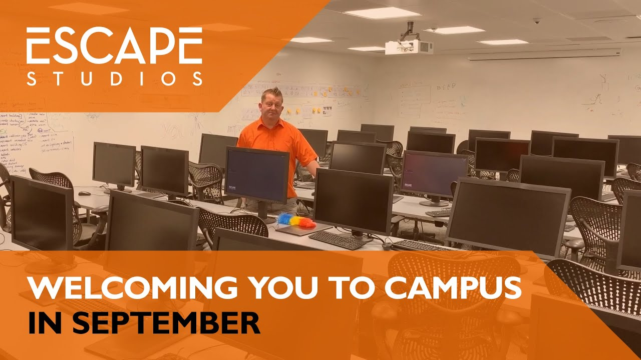 Welcoming you to campus in September - Escape Studios