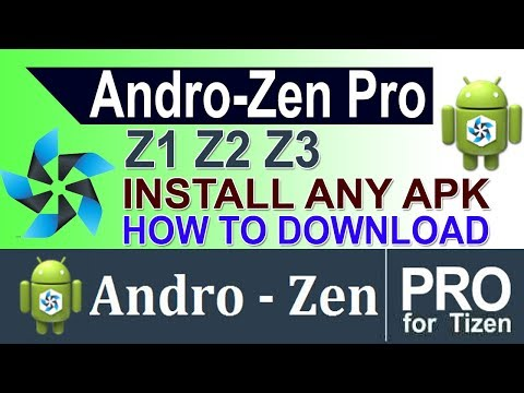 Part 2] Androzen Full Tutorial for Tizen | Install all