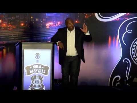 Chris Hogan's speech at the 2015 NHLA Convention