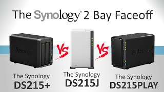 The Synology DS214+ vs DS214PLAY vs DS215J - Which one is best?