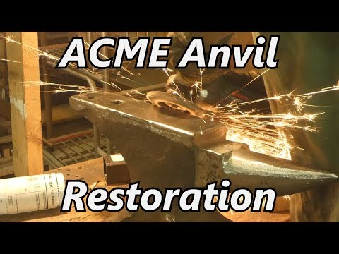 ACME Anvil Restoration | Iron Wolf Industrial Mp3