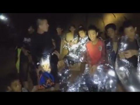Las autoridades confirman el inicio del rescate de 13 atrapados en Tailandia