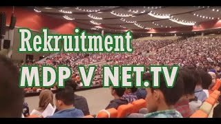 Suasana Rekruitment MDP V - NET.TV Sentul 2017