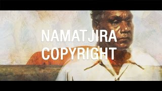 Albert Namatjira copyright - The Feed