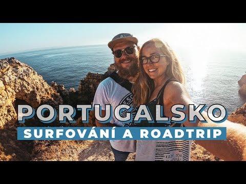 VLOG | Portugalsko, surfování a roadtrip obytňákem.