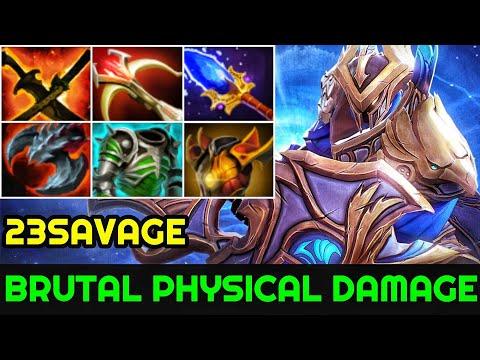 23savage [Sven] Brutal Physical Damage Late Game Boss 7.23 Dota 2