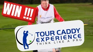 WIN A TOUR CADDY EXPERIENCE