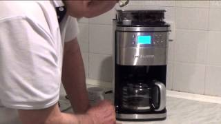 The Andrew James Premium Coffee Maker with Integrated Grinder - Review