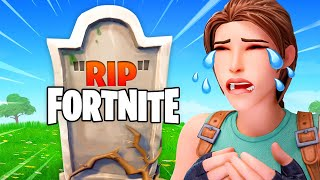 RIP Fortnite... (Everyone's MAD!)