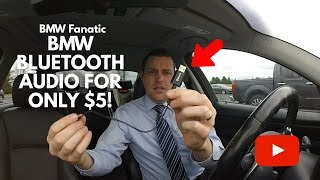 BMW E90 Bluetooth Audio For Only $5!