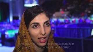 Afghan girls overcome challenges to attend robot competition