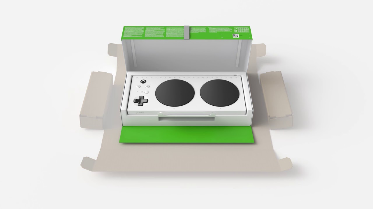 Video For Accessible Unboxing of the Xbox Adaptive Controller