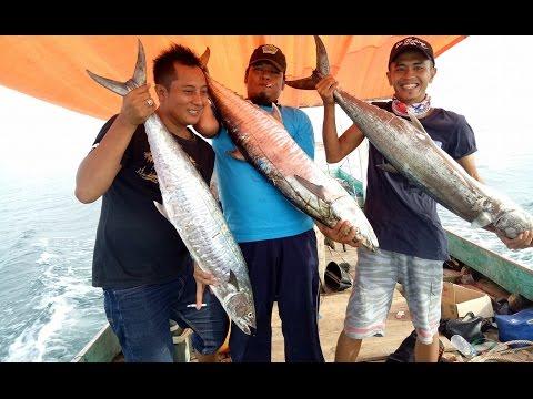 Mancing Mantap Dapat Ikan Tengiri Berat 18.5 Kg - Gila Banget Tarikannya