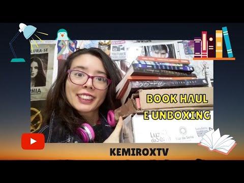 BOOK HAUL E UNBOXING EM SETEMBRO   Kemiroxtv