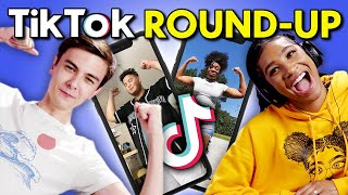 Teens React To Top TikTok Trends Of The Month (I'm Getting Ripped Tonight, I Work At The Bank)