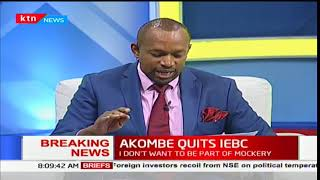 Jubilee Party leader's take on IEBC Commissioner Roselyne Akombe's off