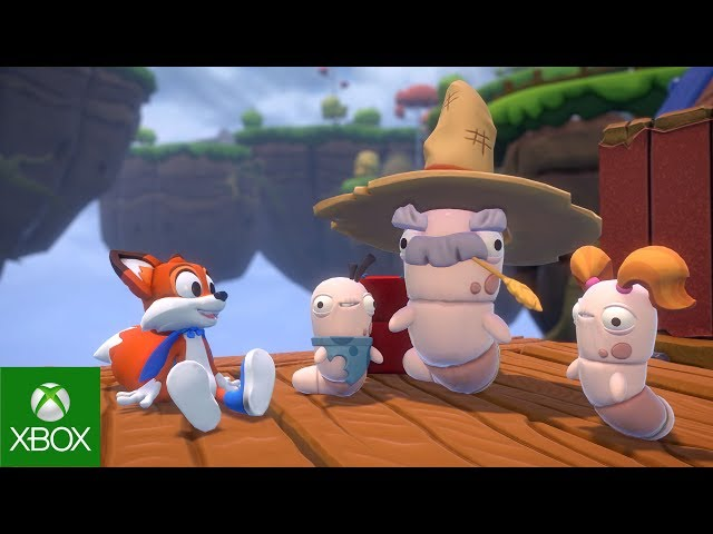 Super Lucky's Tales E3 Trailer