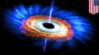 Origin of supermassive black holes explained - TomoNews