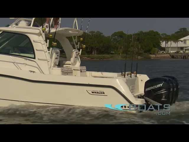 Boston Whaler 345 Conquest Fishing Boat Review / Performance Test