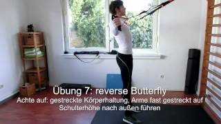 Sling Training / Schlingentraining workout basics 16 Übungen