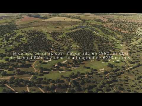 Salamanca Golf, Recorrido Zarapicos