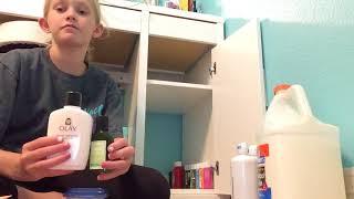 Organizing my slime supplies