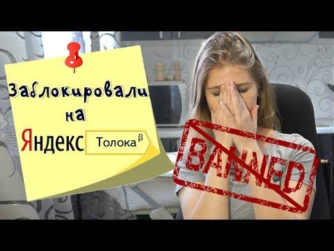 Заблокировали на Яндекс Толоке. Что делать?