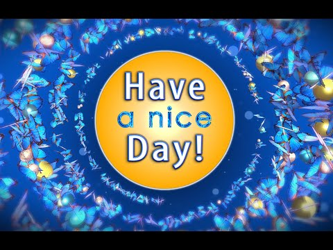 ✅Good Morning! Have a nice day!✅Animation Greeting Cards #4K #WhatsApp