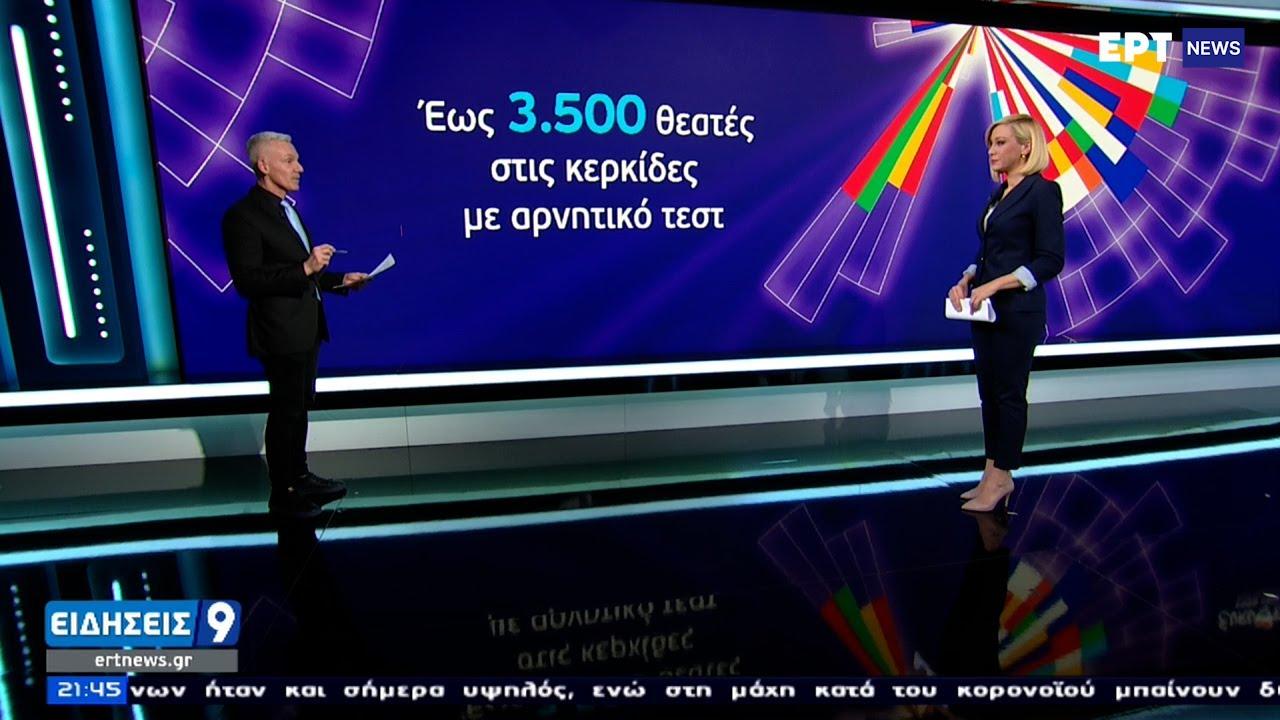 EUROVISION: Παρουσία κοινού ο διαγωνισμός με περιορισμένο κοινό και αρνητικά τεστ ΕΡΤ 01/04/2021