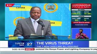 The virus threat: 7 new positive cases, 9 new recoveries as movement in Mandera restricted