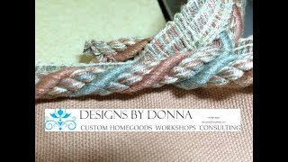 Episode 43 - Joining Decorative Braid Cord