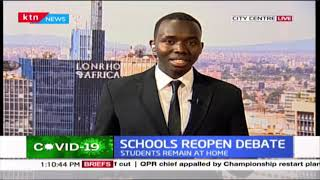Debate on when schools re-open continues