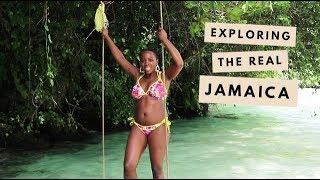 VLOG   Exploring The REAL Jamaica - Kingston & Port Antonio!   Kristabel