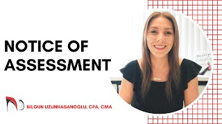 NOTICE OF ASSESSMENT