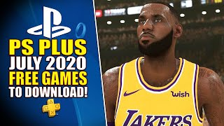 3 FREE PS4 Games! PlayStation Plus (PS+) July 2020 Lineup REVEALED!