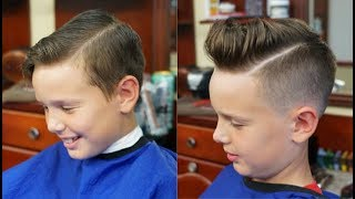 Kids Bald Fade With Hard Part Tutorial