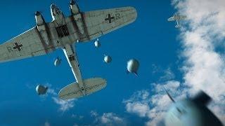"""""""Бомбы, ракеты, торпеды"""" - War Thunder. Обучение, часть 4. Авиация (аркадный режим)"""