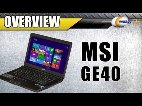 MSI GE40 14
