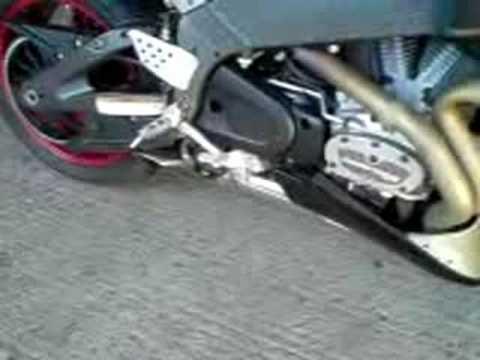 Micron exhaust on Buell xb12sx 2010 | Videos | custom-bike com