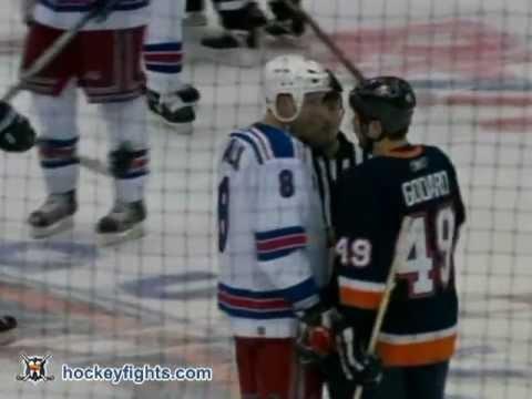 Colton Orr vs John Erskine