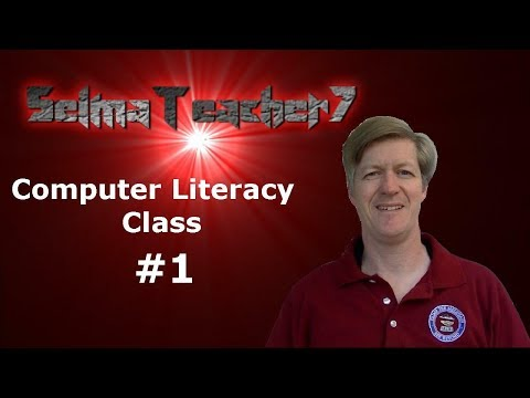 Computer Literacy Lesson #1 - YouTube