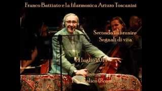Secondo imbrunire/Segnali di vita-Battiato (live Foro Italico)