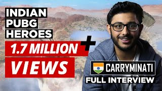 Indian Heroes of PUBG Ep:1 | CarryMinati | Ajey Nagar | CarryIsLive